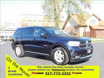 2011 Dodge Durango for sale at Fritz in Noblesville in Noblesville IN