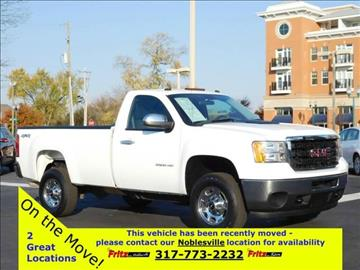 2013 GMC Sierra 2500HD for sale at Fritz in Noblesville in Noblesville IN