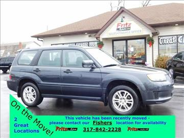 2008 Subaru Forester for sale at Fritz in Noblesville in Noblesville IN