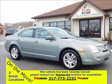 2008 Ford Fusion for sale at Fritz in Noblesville in Noblesville IN