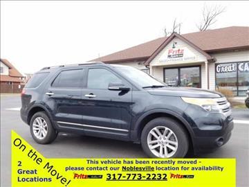 2013 Ford Explorer for sale at Fritz in Noblesville in Noblesville IN