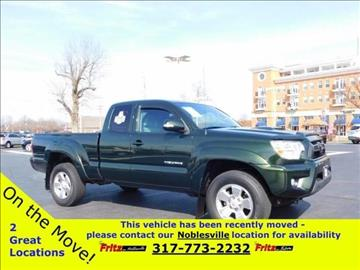 2013 Toyota Tacoma for sale at Fritz in Noblesville in Noblesville IN