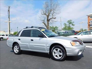 2006 Subaru Baja for sale at Fritz in Noblesville in Noblesville IN
