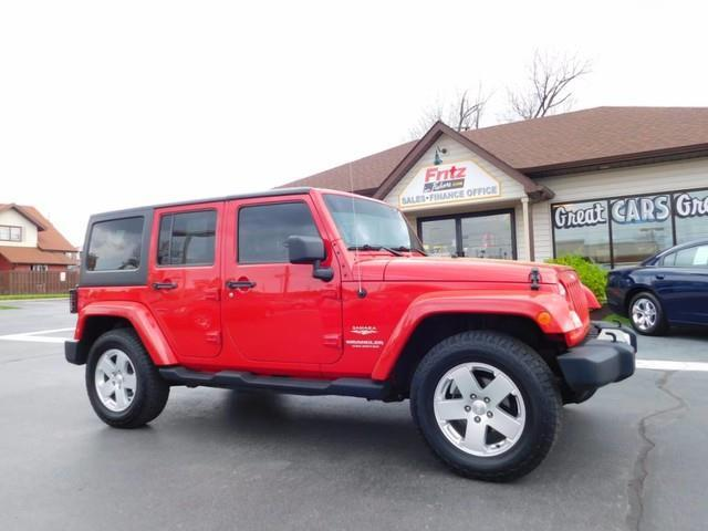 2011 Jeep Wrangler Unlimited for sale at Fritz in Noblesville in Noblesville IN