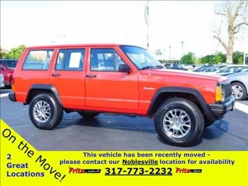 1996 Jeep Cherokee for sale at Fritz in Noblesville in Noblesville IN