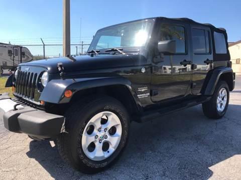 2013 Jeep Wrangler Unlimited for sale in Jupiter, FL