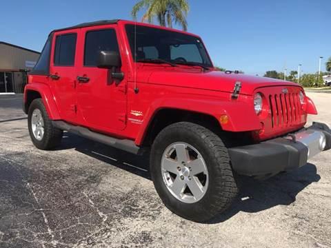 2011 Jeep Wrangler Unlimited for sale in Jupiter, FL