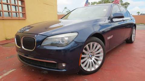 2012 BMW 7 Series for sale in Miami, FL
