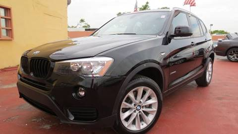 2017 BMW X3 for sale in Miami, FL