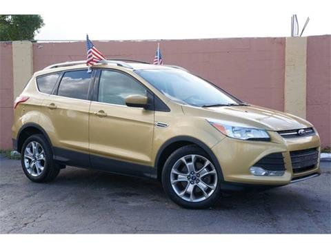2014 ford escape for sale in florida. Black Bedroom Furniture Sets. Home Design Ideas