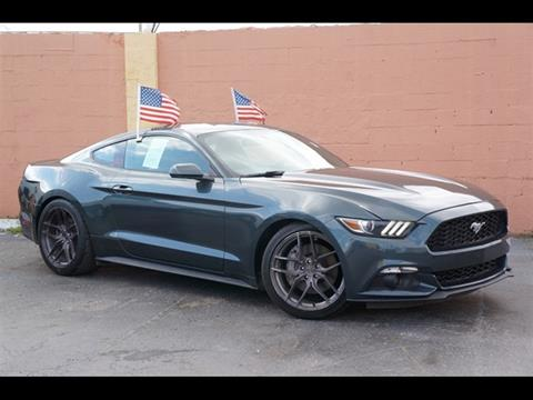 2015 Mustang For Sale >> 2015 Ford Mustang For Sale In Miami Fl