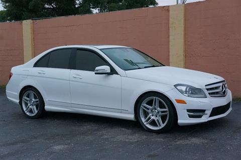 2013 Mercedes-Benz C-Class for sale at Concept Auto Inc in Miami FL
