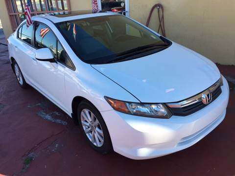 2012 Honda Civic for sale in Miami, FL