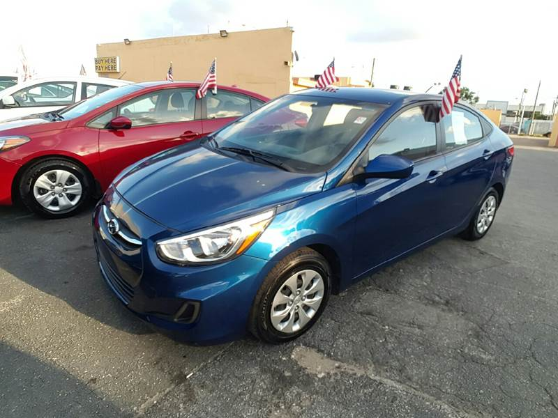 2016 Hyundai Accent SE 4dr Sedan 6A - Miami FL