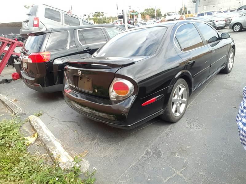 2003 Nissan Maxima GLE 4dr Sedan - Miami FL