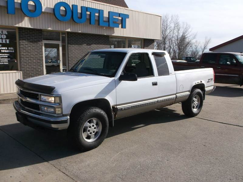 1998 Chevrolet C/K 1500 Series 2dr K1500 Cheyenne 4WD Extended Cab SB - Excelsior Springs MO