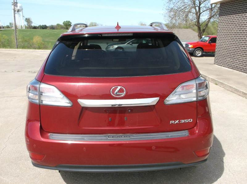 2012 Lexus RX 350 AWD 4dr SUV - Excelsior Springs MO