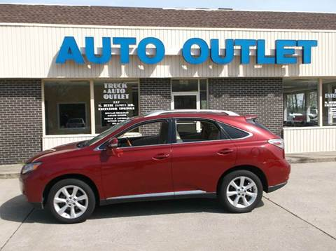 2012 Lexus RX 350 for sale at Truck and Auto Outlet in Excelsior Springs MO