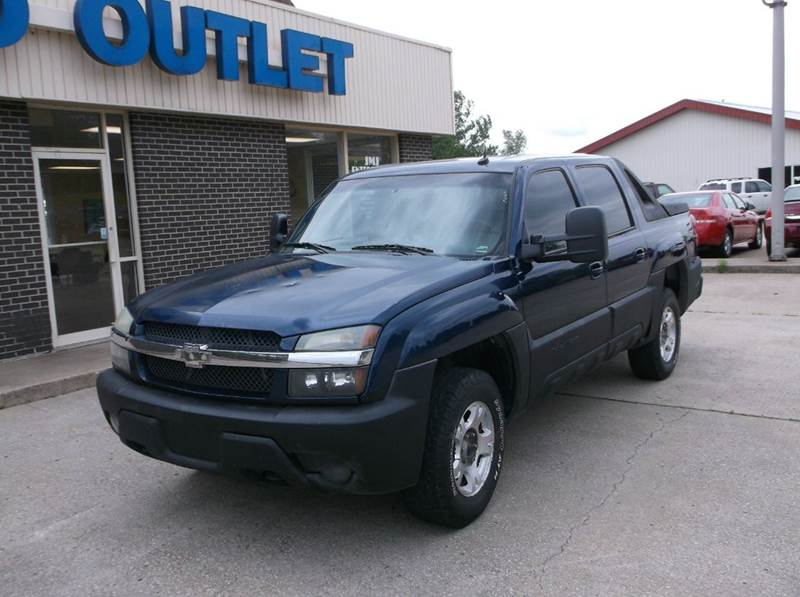 2002 Chevrolet Avalanche 4dr 1500 4WD Crew Cab SB - Excelsior Springs MO