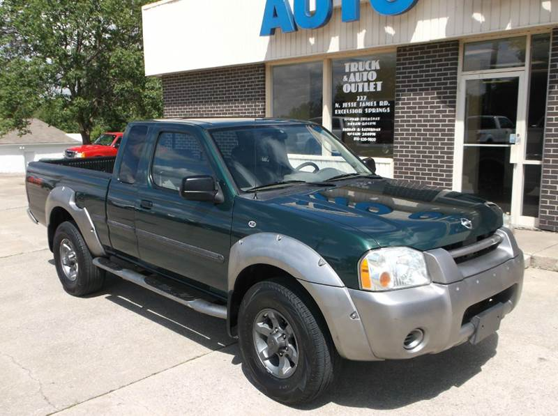 2002 Nissan Frontier 2dr King Cab XE-V6 4WD SB - Excelsior Springs MO