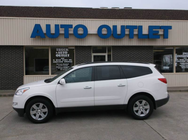 2011 Chevrolet Traverse AWD LT 4dr SUV w/2LT - Excelsior Springs MO
