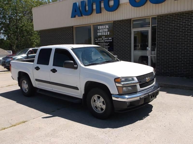 2007 Chevrolet Colorado LT 4dr Crew Cab SB - Excelsior Springs MO