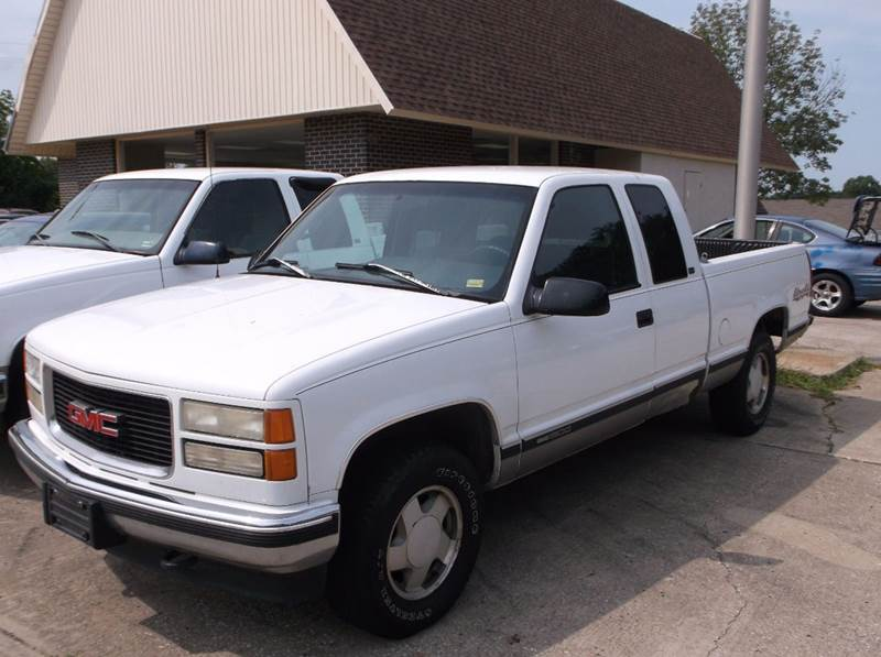 1996 GMC Sierra 1500 2dr K1500 SLE 4WD Extended Cab SB - Excelsior Springs MO