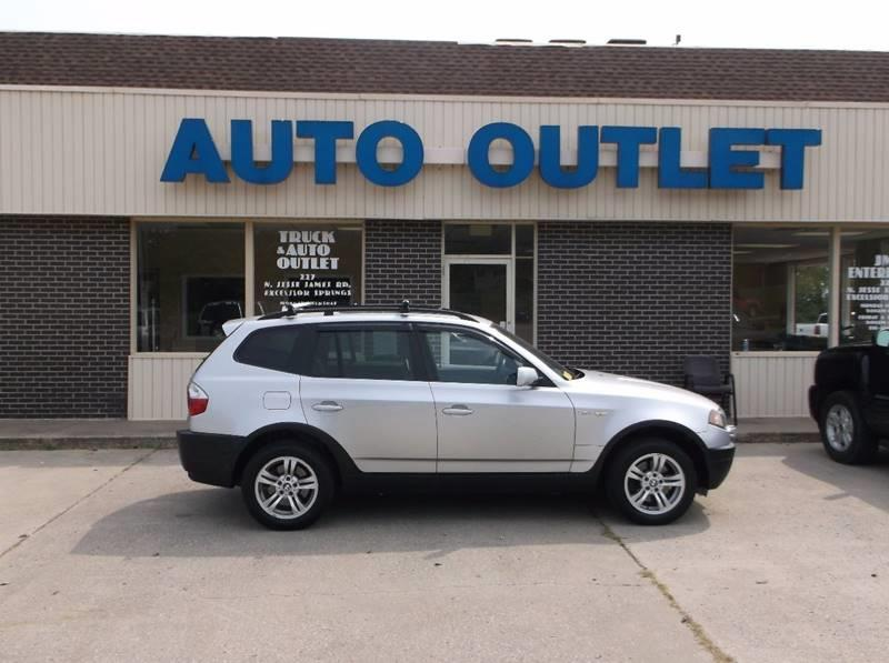 2004 BMW X3 for sale at Truck and Auto Outlet in Excelsior Springs MO
