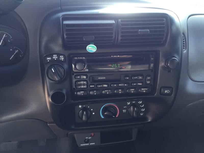2000 Ford Ranger 2dr XLT 4WD Extended Cab SB - Excelsior Springs MO