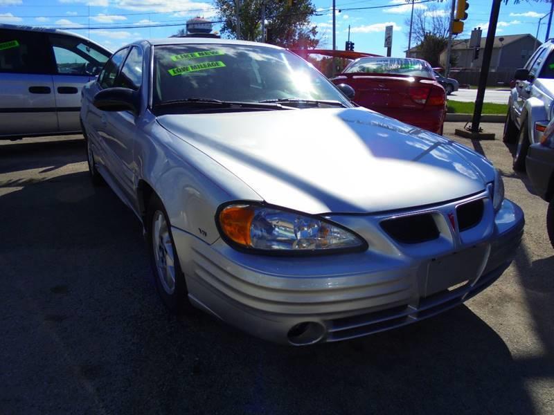 2002 Pontiac Grand Am for sale at RBM AUTO BROKERS in Alsip IL