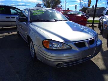 2002 Pontiac Grand Am for sale at RBM AUTO BROKERS in Alsip IL