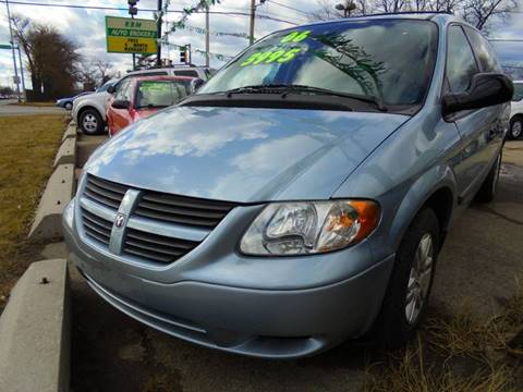 2006 Dodge Grand Caravan for sale at RBM AUTO BROKERS in Alsip IL