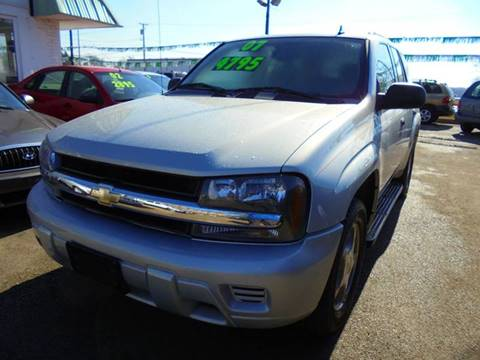 2007 Chevrolet TrailBlazer for sale at RBM AUTO BROKERS in Alsip IL