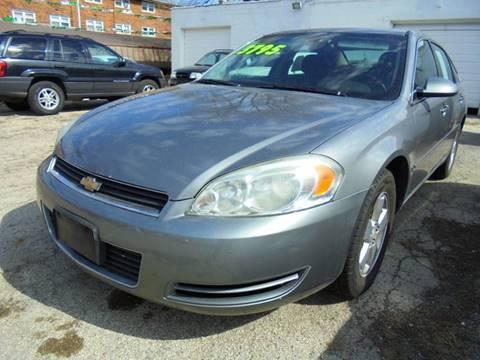 2006 Chevrolet Impala for sale at RBM AUTO BROKERS in Alsip IL