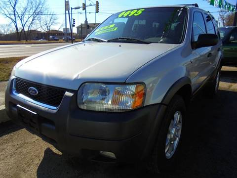2002 Ford Escape for sale at RBM AUTO BROKERS in Alsip IL