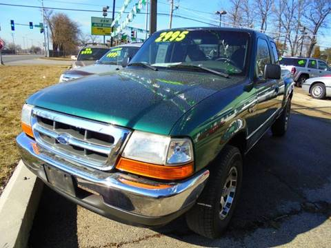 2000 Ford Ranger for sale at RBM AUTO BROKERS in Alsip IL