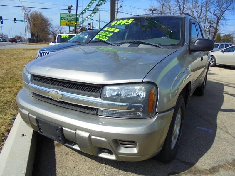 2003 Chevrolet TrailBlazer for sale at RBM AUTO BROKERS in Alsip IL