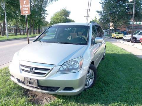 2005 Honda Odyssey for sale at RBM AUTO BROKERS in Alsip IL