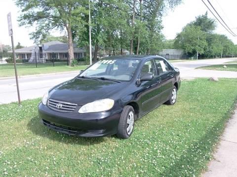 2003 Toyota Corolla for sale in Alsip, IL