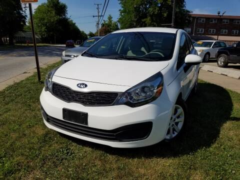 2013 Kia Rio for sale at RBM AUTO BROKERS in Alsip IL