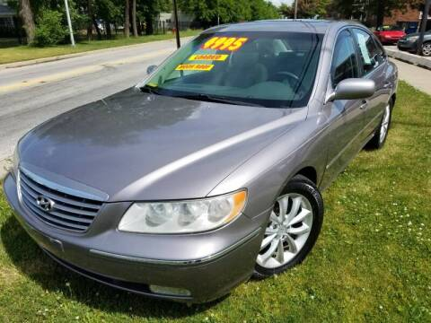 2006 Hyundai Azera for sale at RBM AUTO BROKERS in Alsip IL