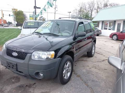 2006 Ford Escape for sale at RBM AUTO BROKERS in Alsip IL