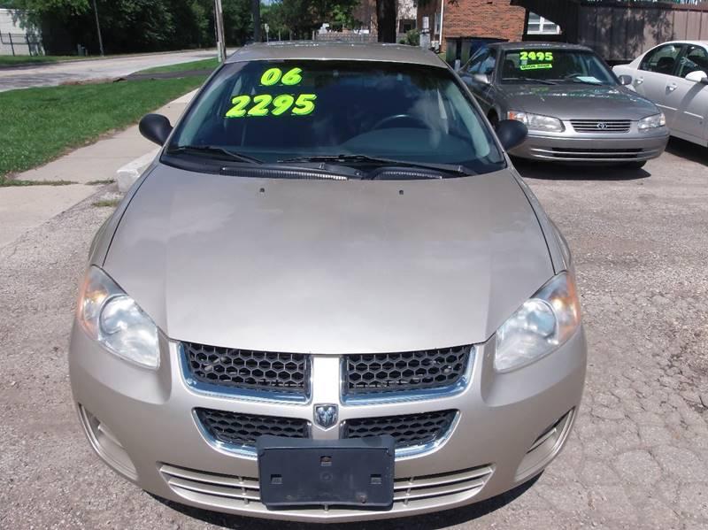 2006 Dodge Stratus for sale at RBM AUTO BROKERS in Alsip IL