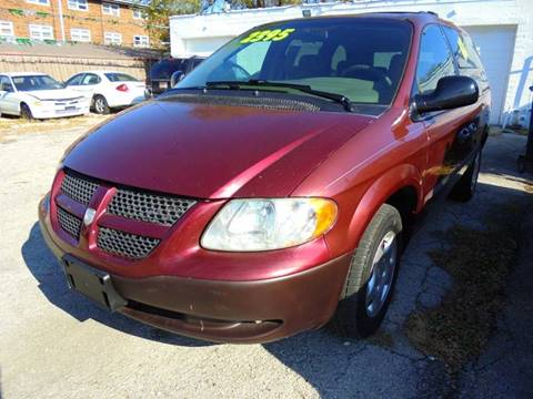 2002 Dodge Caravan for sale at RBM AUTO BROKERS in Alsip IL