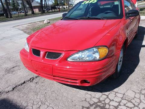 2001 Pontiac Grand Am for sale at RBM AUTO BROKERS in Alsip IL