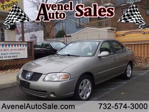 2006 Nissan Sentra for sale in Avenel, NJ