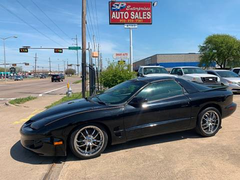 1998 Pontiac Firebird for sale in Garland, TX