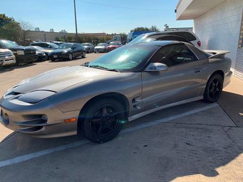 2000 Pontiac Firebird for sale in Garland, TX
