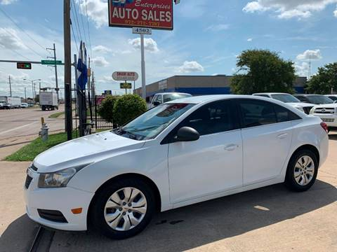 2012 Chevrolet Cruze for sale in Garland, TX