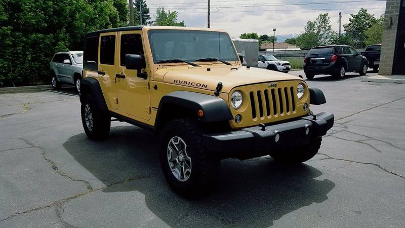 2014 Jeep Wrangler Unlimited 4x4 Rubicon 4dr SUV - Midvale UT